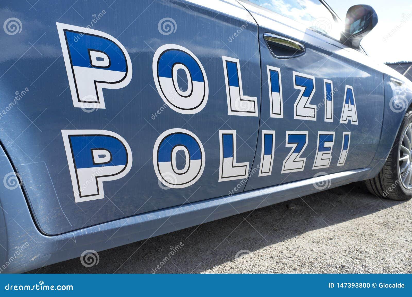 Ιταλικό περιπολικό της Αστυνομίας Sudtirol