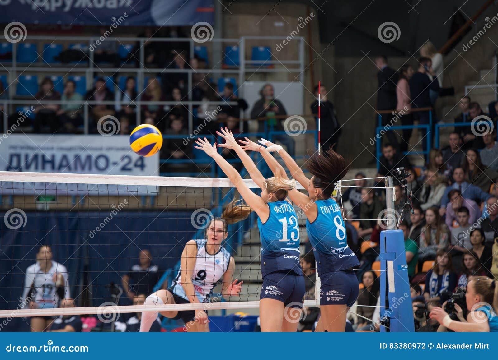 Ι Fetisoav ( 13)  και Ν Goncharova ( 8)  υπερασπίστε