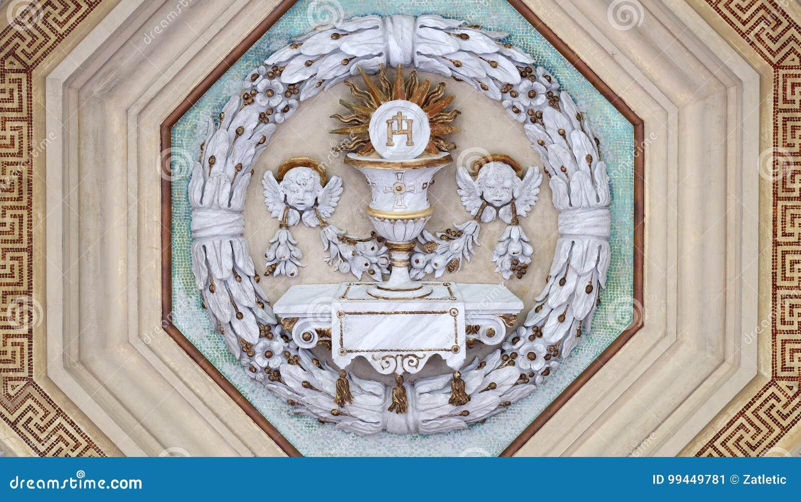 Κάλυκας και γκοφρέτα Eucharist