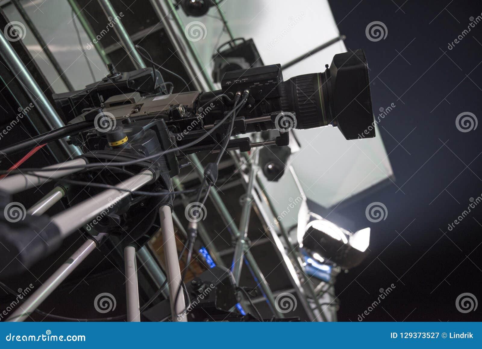 κάμερα στούντιο στη συναυλία