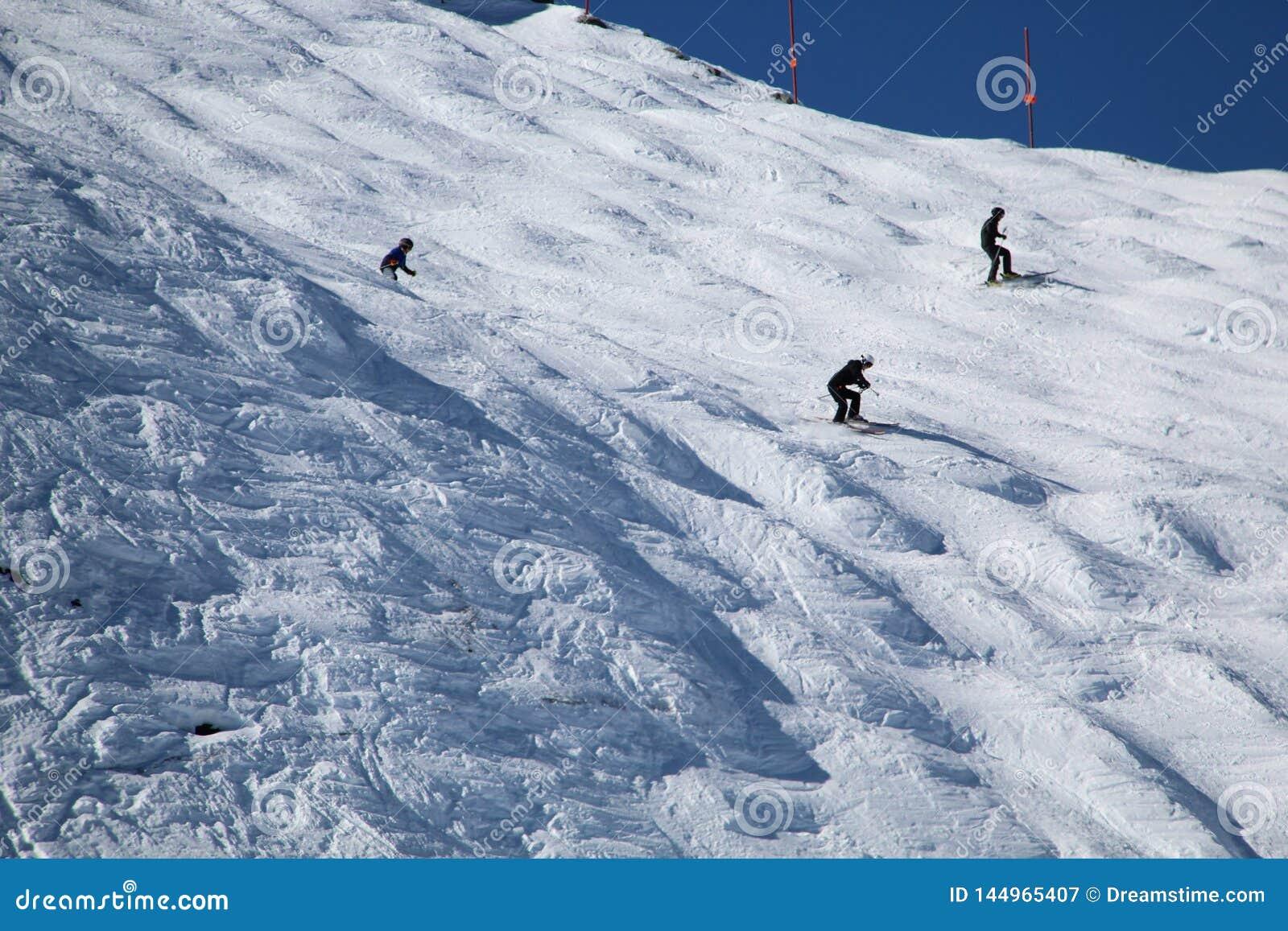 Κάνοντας σκι συριστήρας Π.Χ. Καναδάς