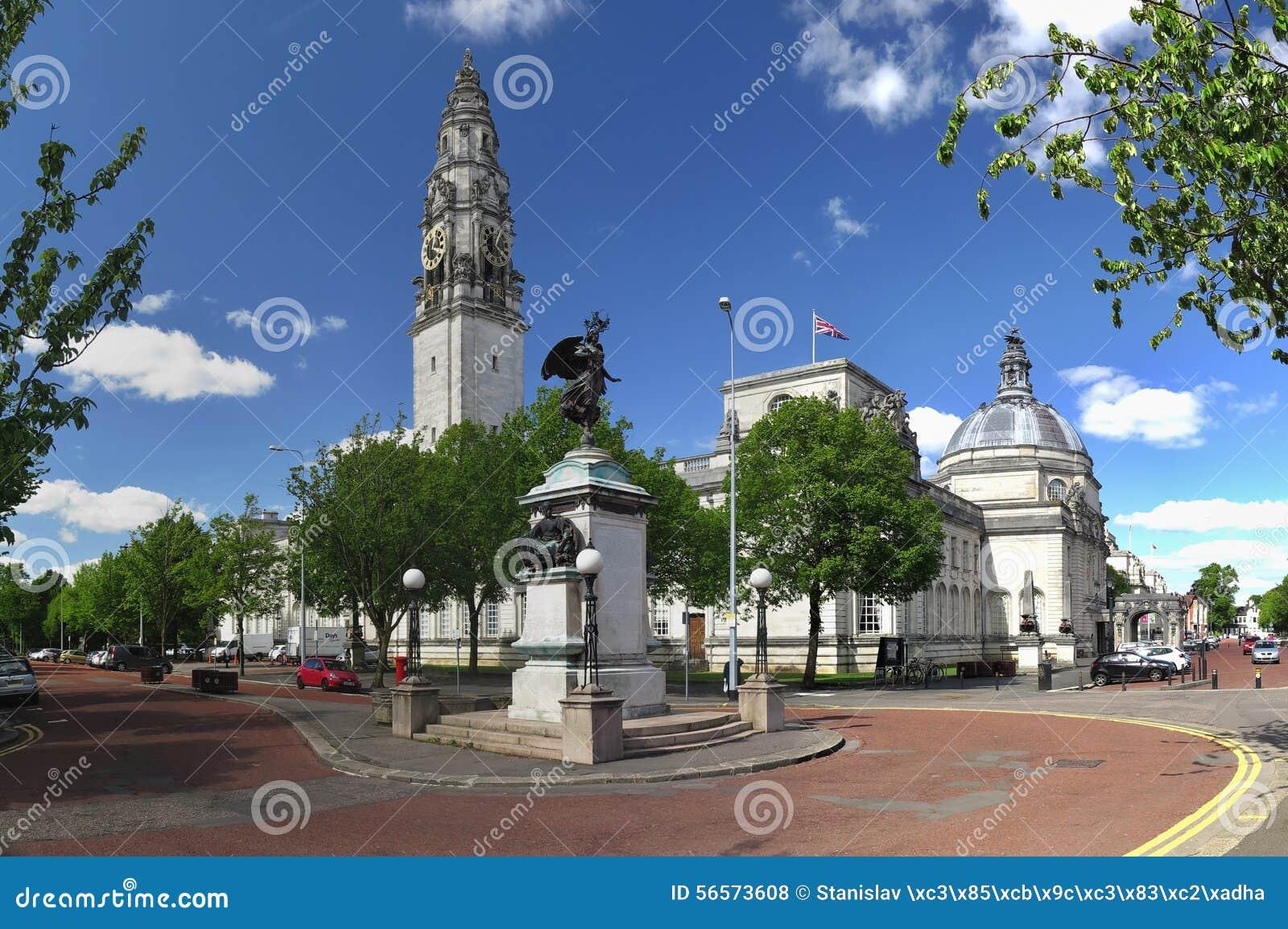 Download Κάρντιφ Δημαρχείο εκδοτική στοκ εικόνες. εικόνα από αίθουσα - 56573608