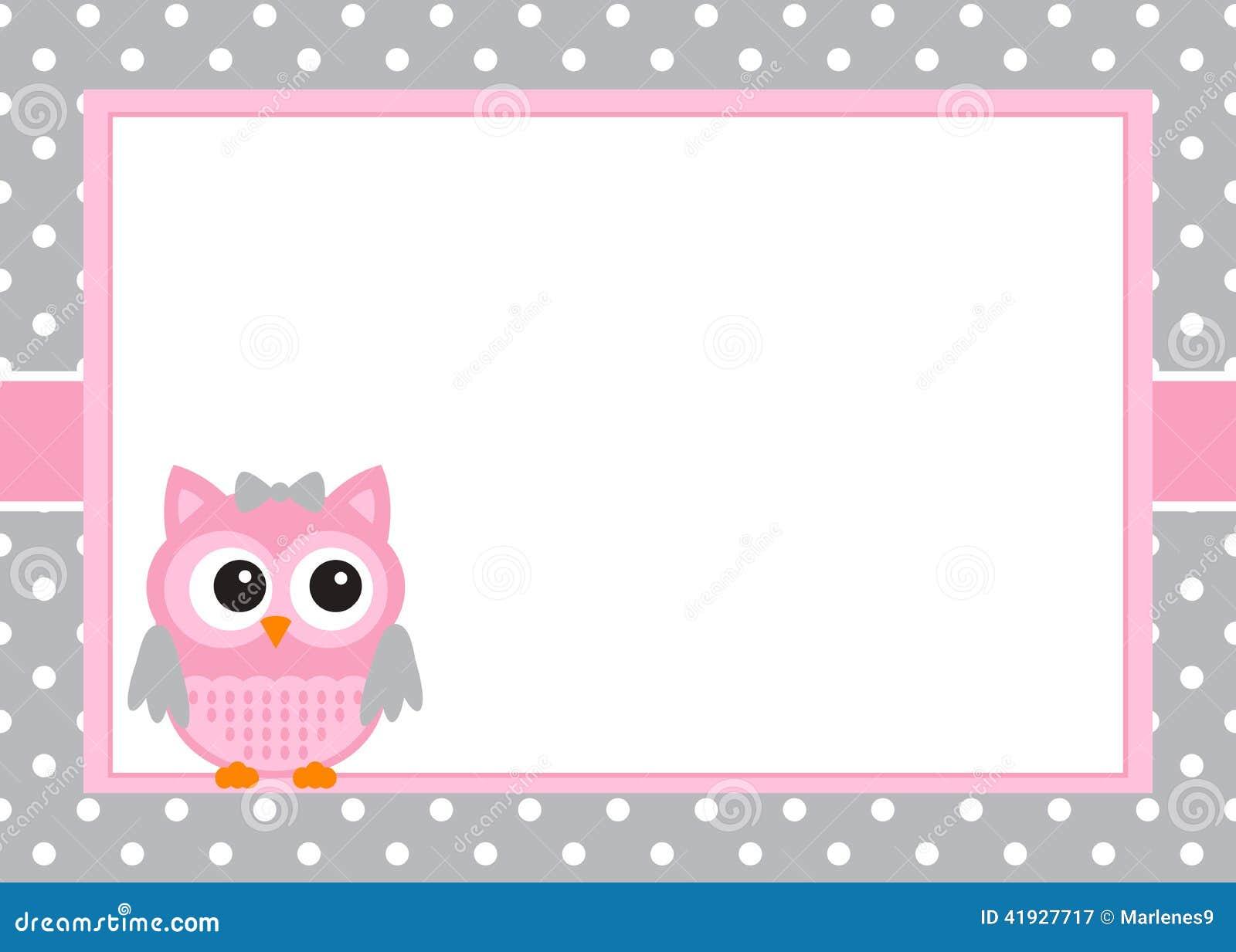 Κάρτα πρόσκλησης κοριτσάκι