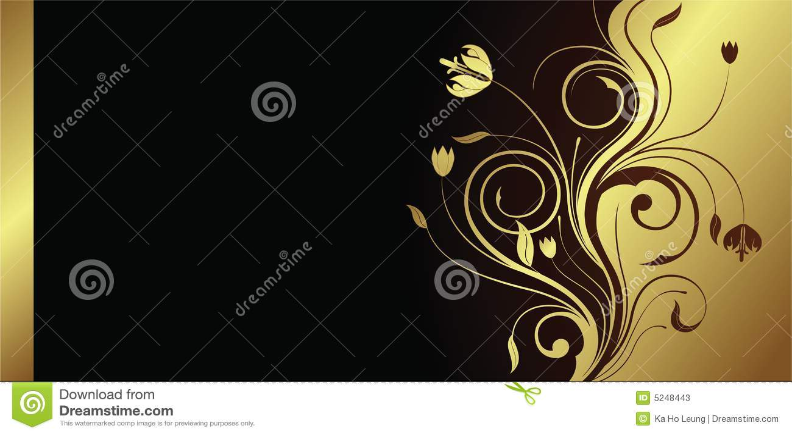 κάρτα floral