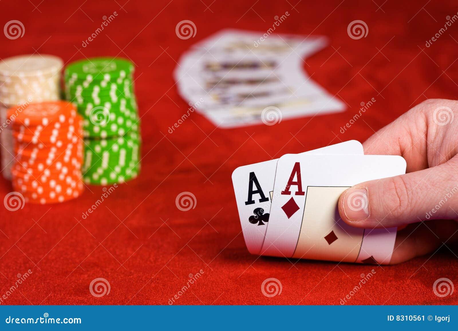 κάρτες δύο άσσων