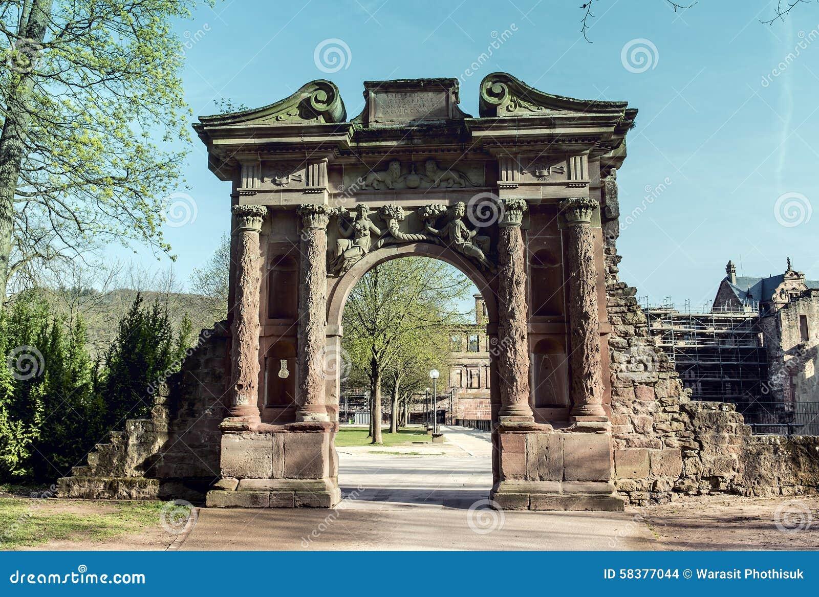 κάστρο Γερμανία Χαϋδελβέρ&