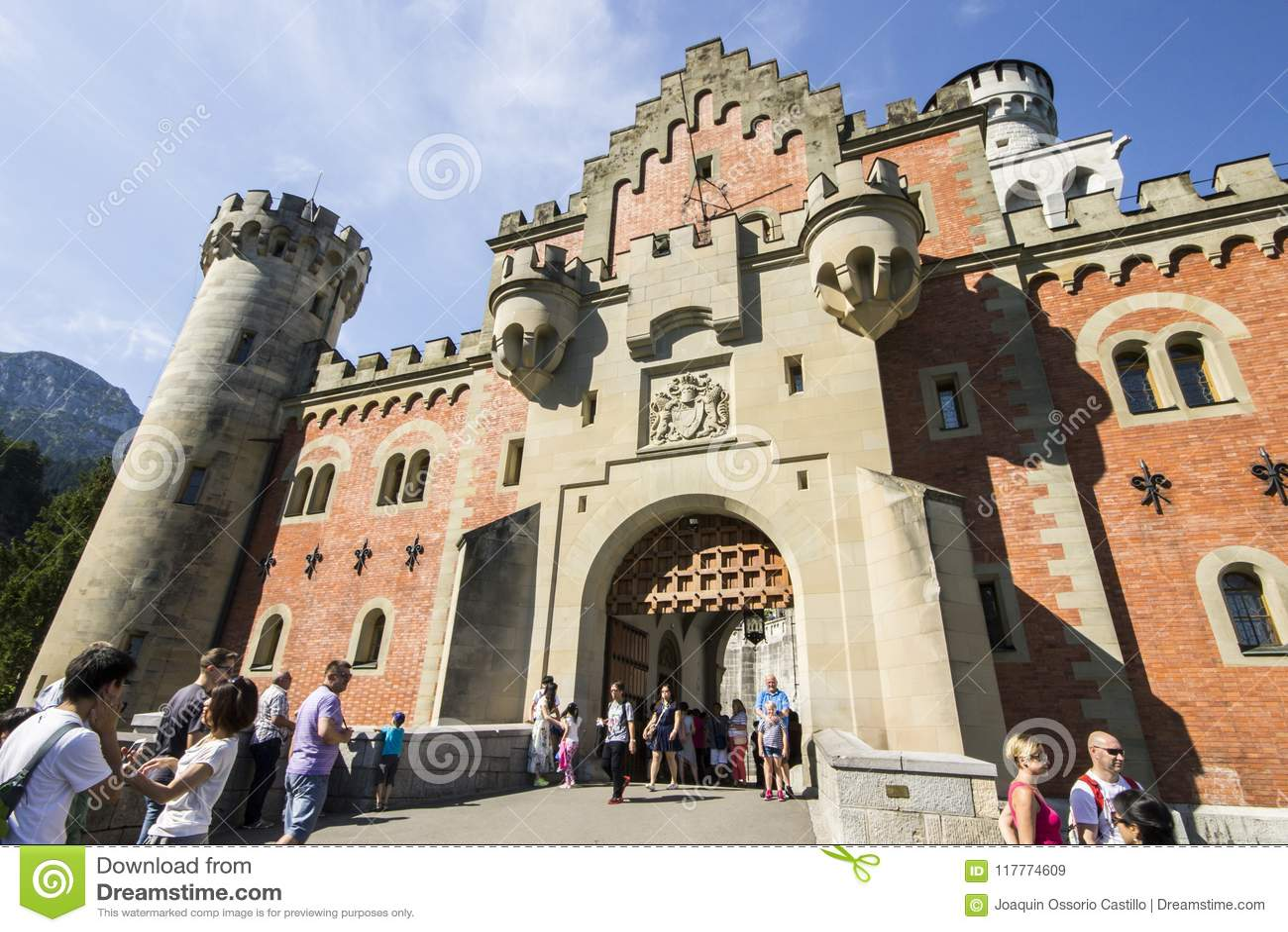 κάστρο Γερμανία neuschwanstein