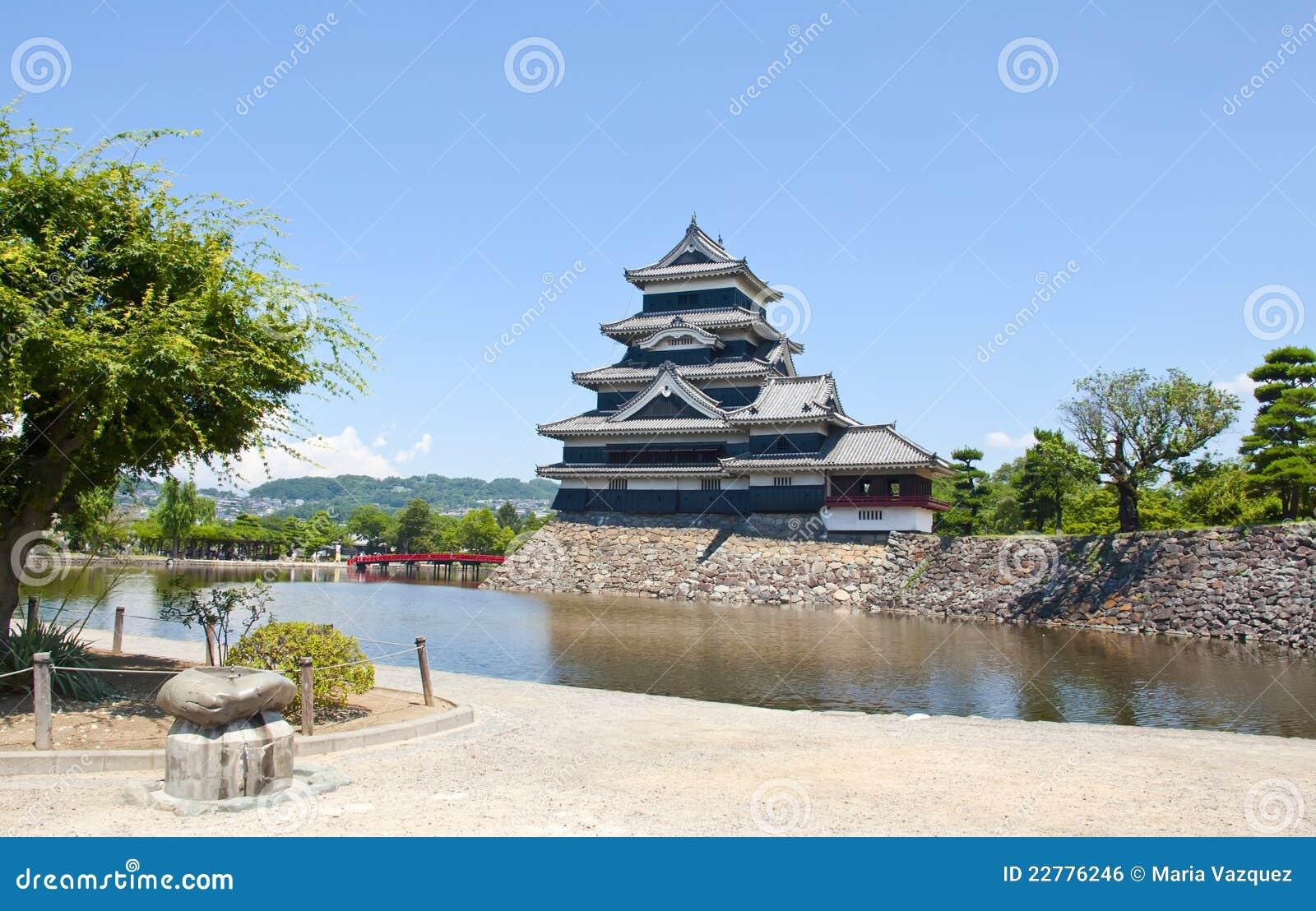 κάστρο Ιαπωνία Ματσουμότ&omicro