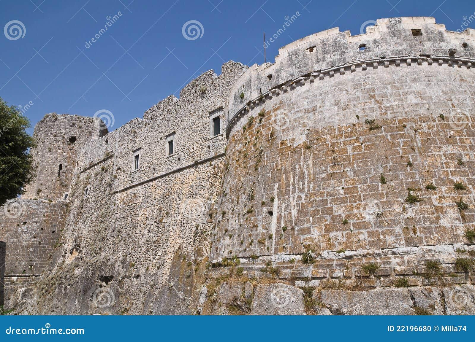 κάστρο ιστορική Ιταλία Π&omicron