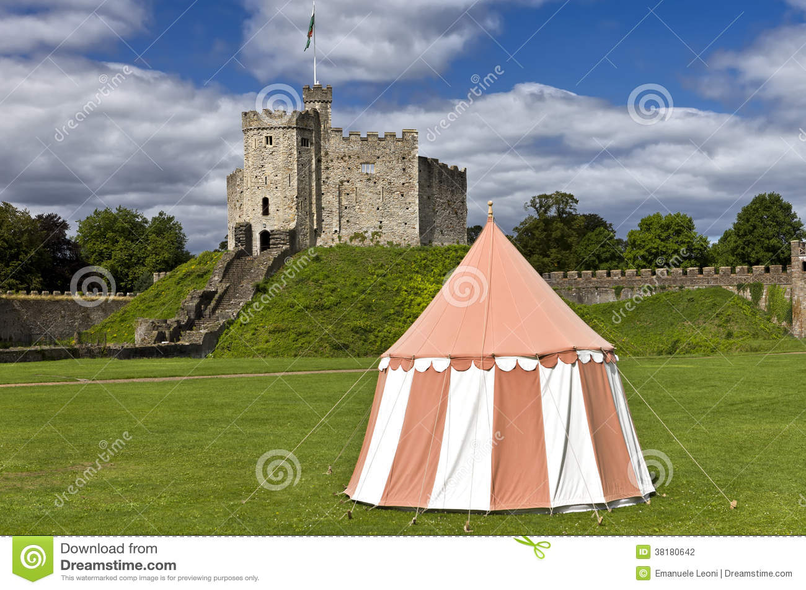 Κάστρο του Κάρντιφ, Ουαλία, UK
