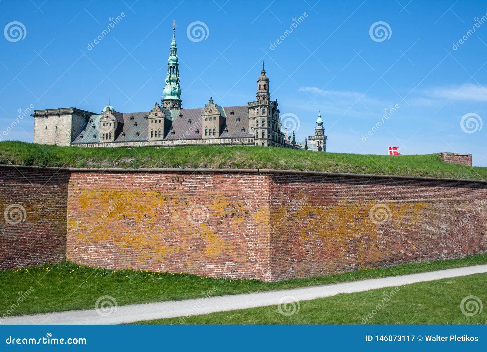 Κάστρο Kronborg σε Elsinore, Δανία