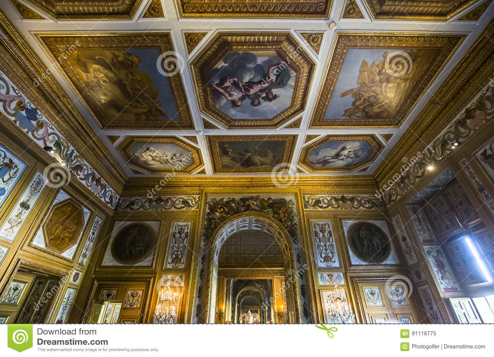 Κάστρο LE vicomte Vaux, Maincy, Γαλλία