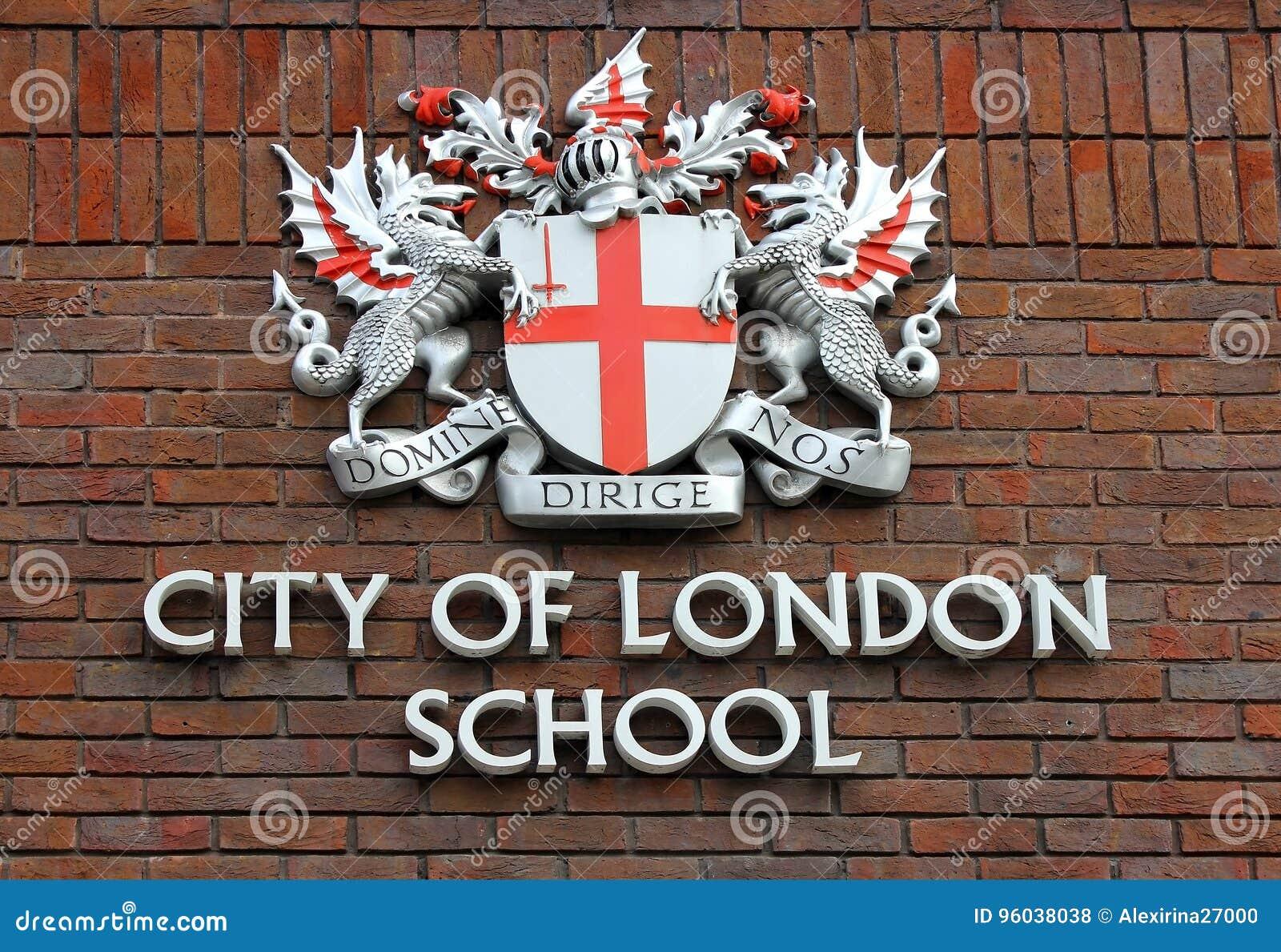 Κάλυψη των όπλων της πόλης του σχολείου του Λονδίνου