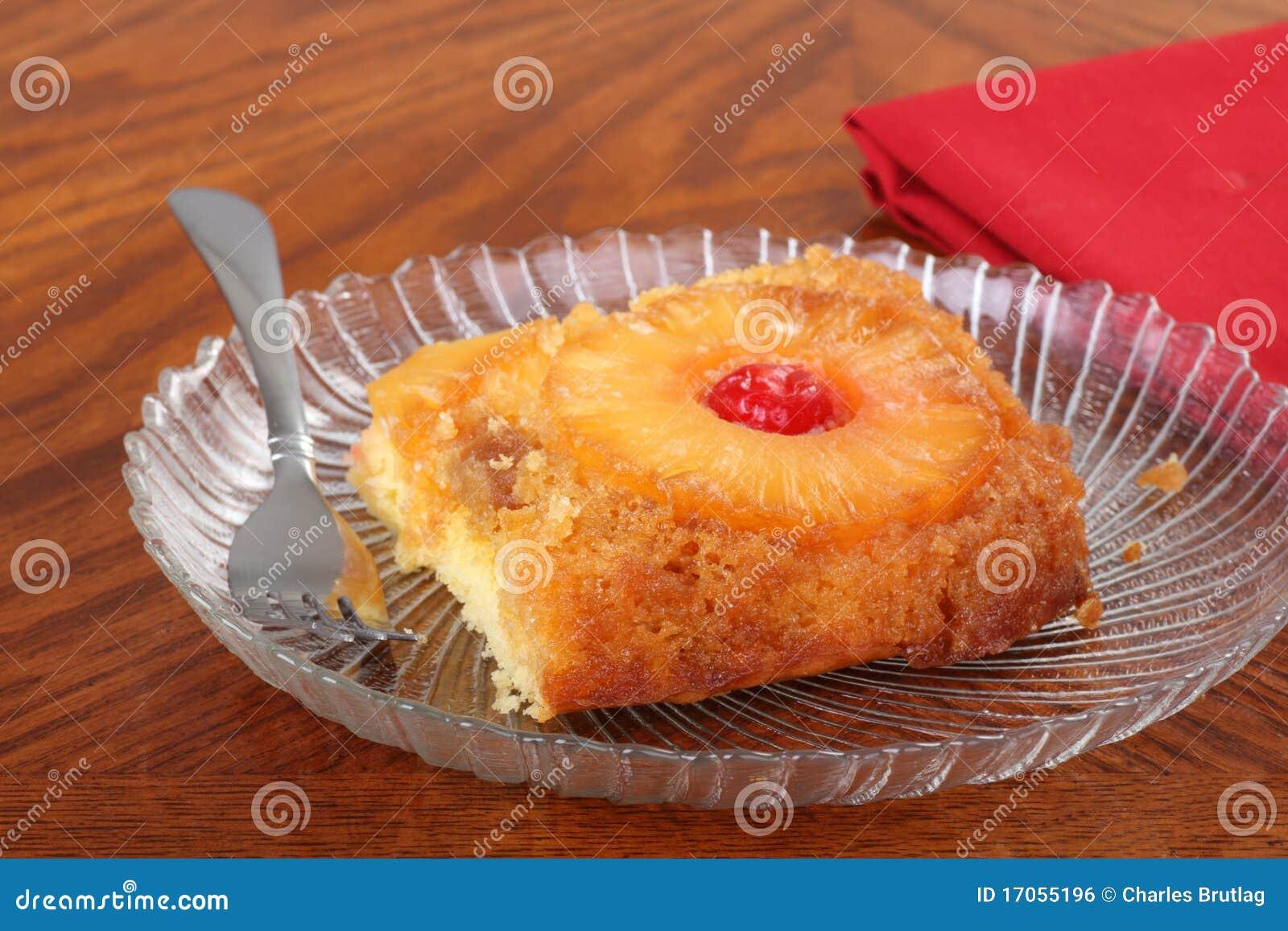 κέικ κάτω από την άνω πλευρά α&n