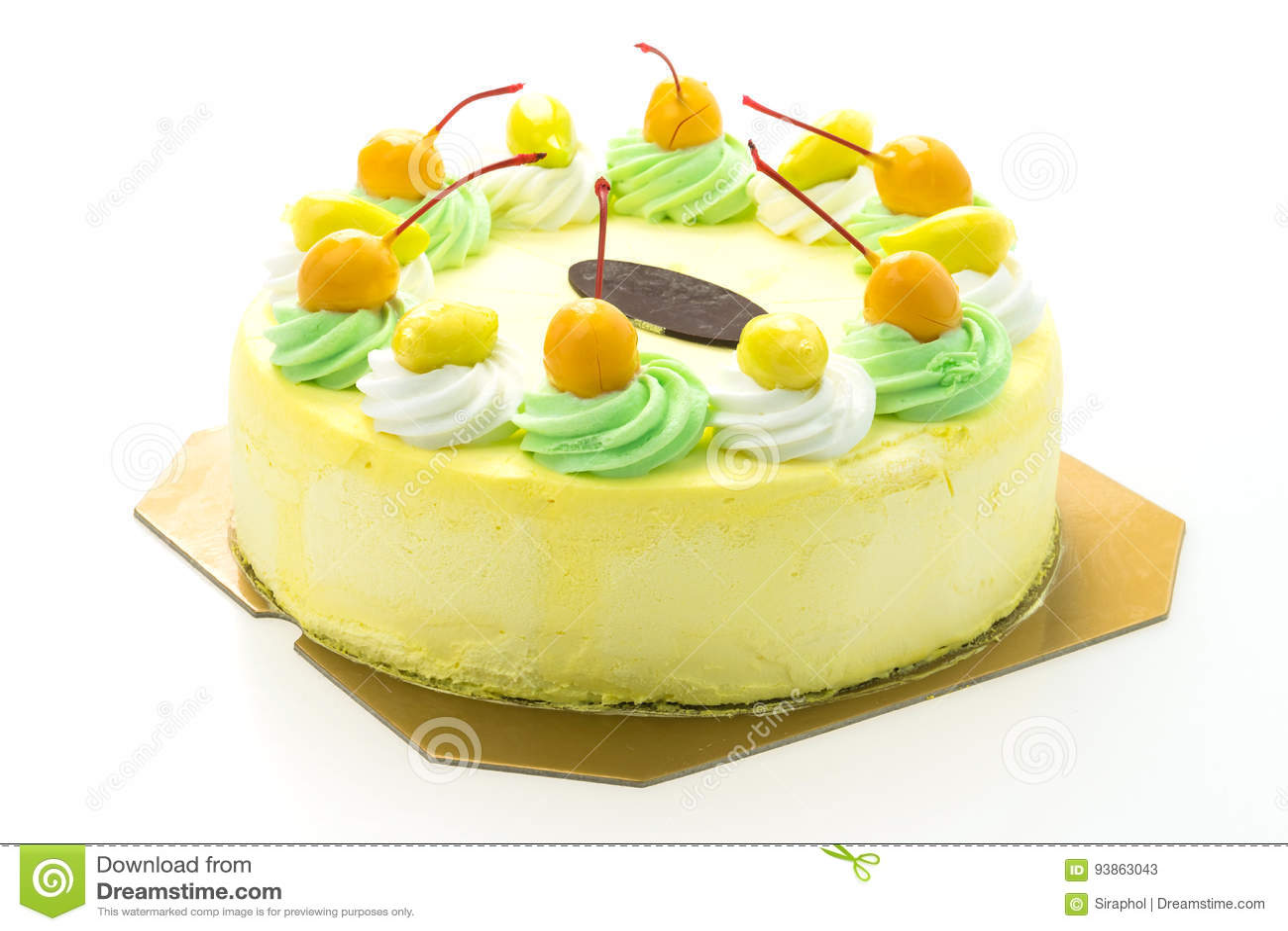 Κέικ μάγκο παγωτού