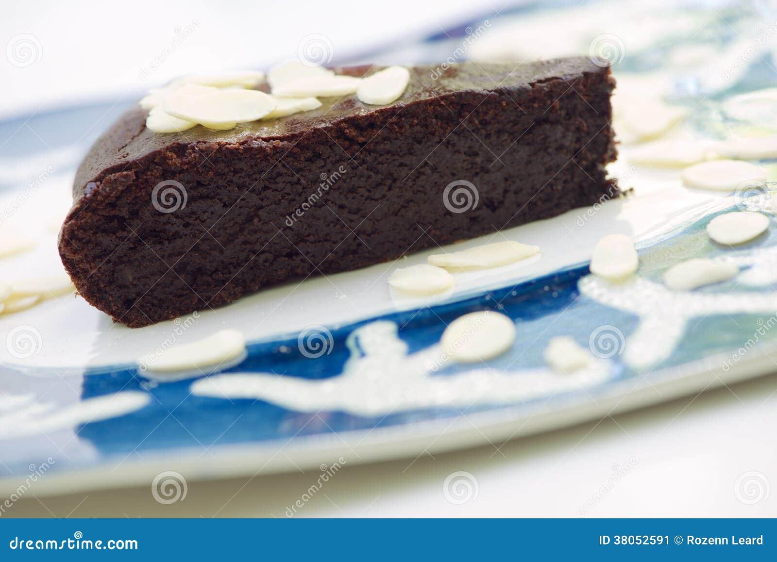 Κέικ σοκολάτας και αμυγδάλων