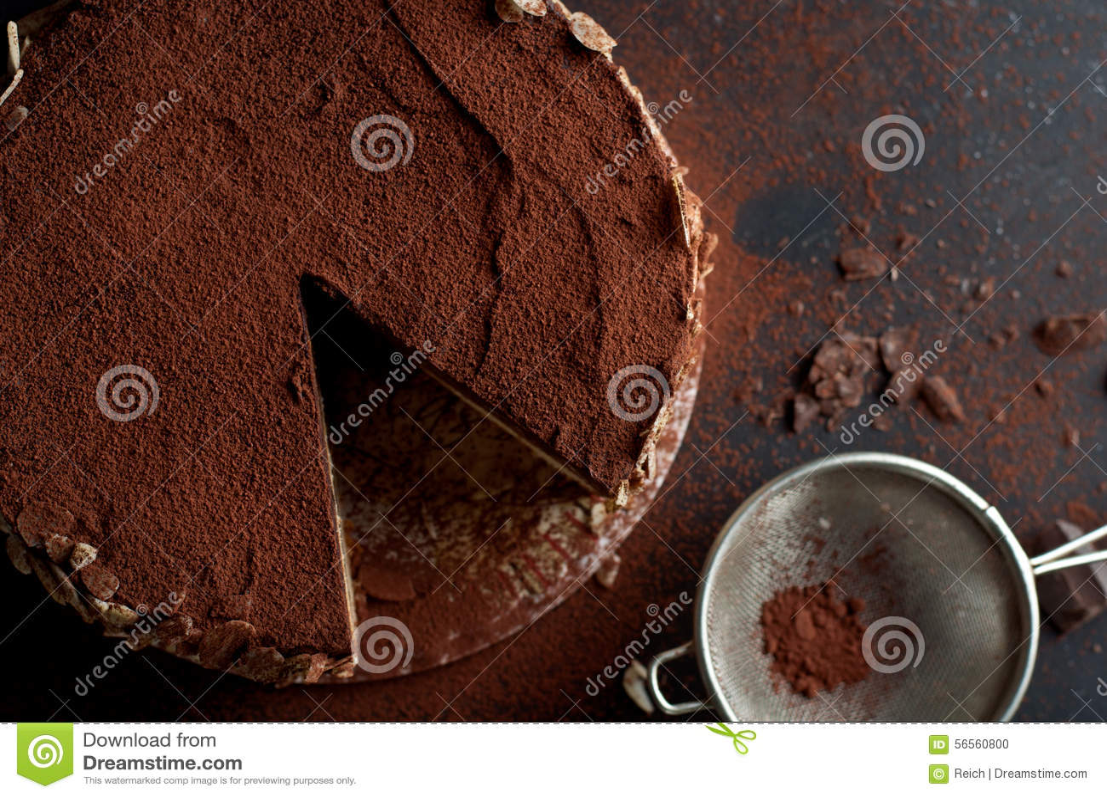 Download Κέικ σοκολάτας στοκ εικόνες. εικόνα από διακοσμήστε, γαστρονομικός - 56560800