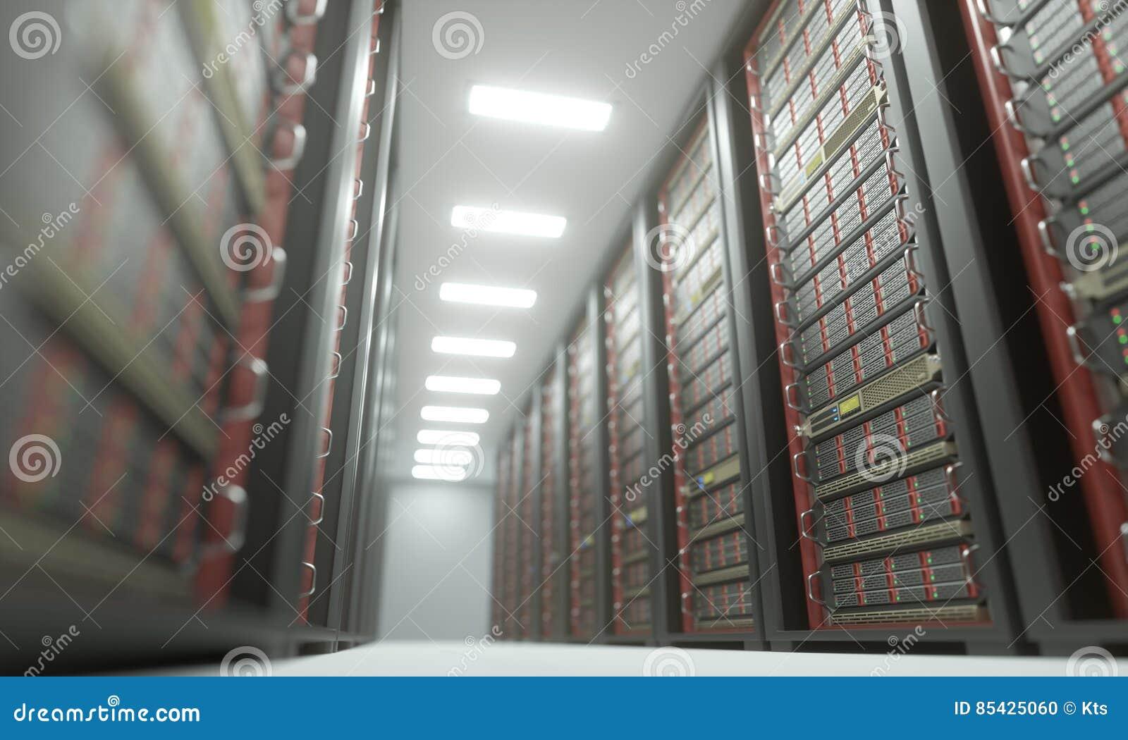 Κέντρο δεδομένων δωματίων κεντρικών υπολογιστών