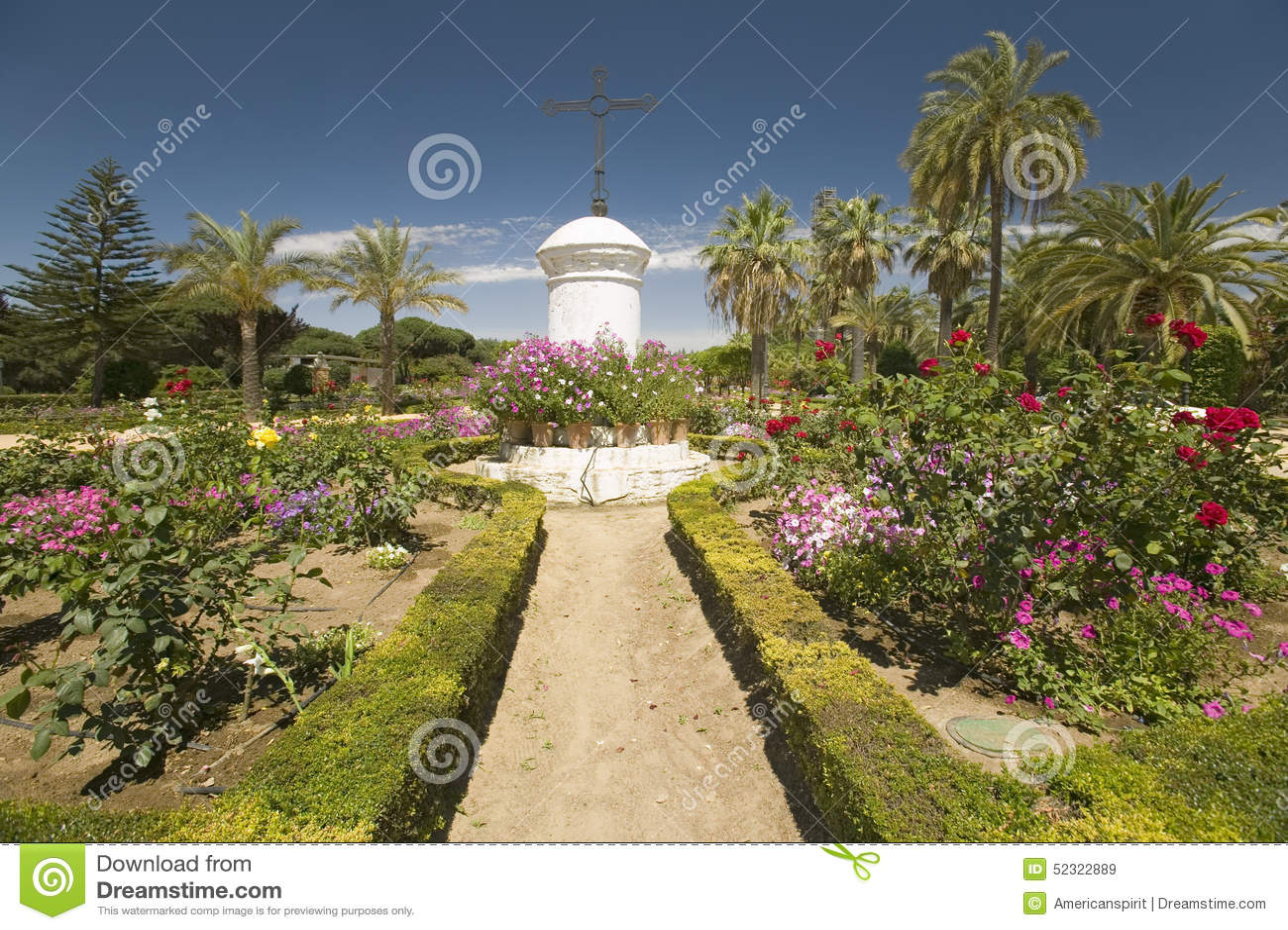 Κήποι 15ο Franciscan Monasterio de Santa Marï ¿ ½ ένα bida ½, Λα Frontera, μια κληρονομιά Λα Rï ¿ de Palos de της περιοχής ανθρωπ