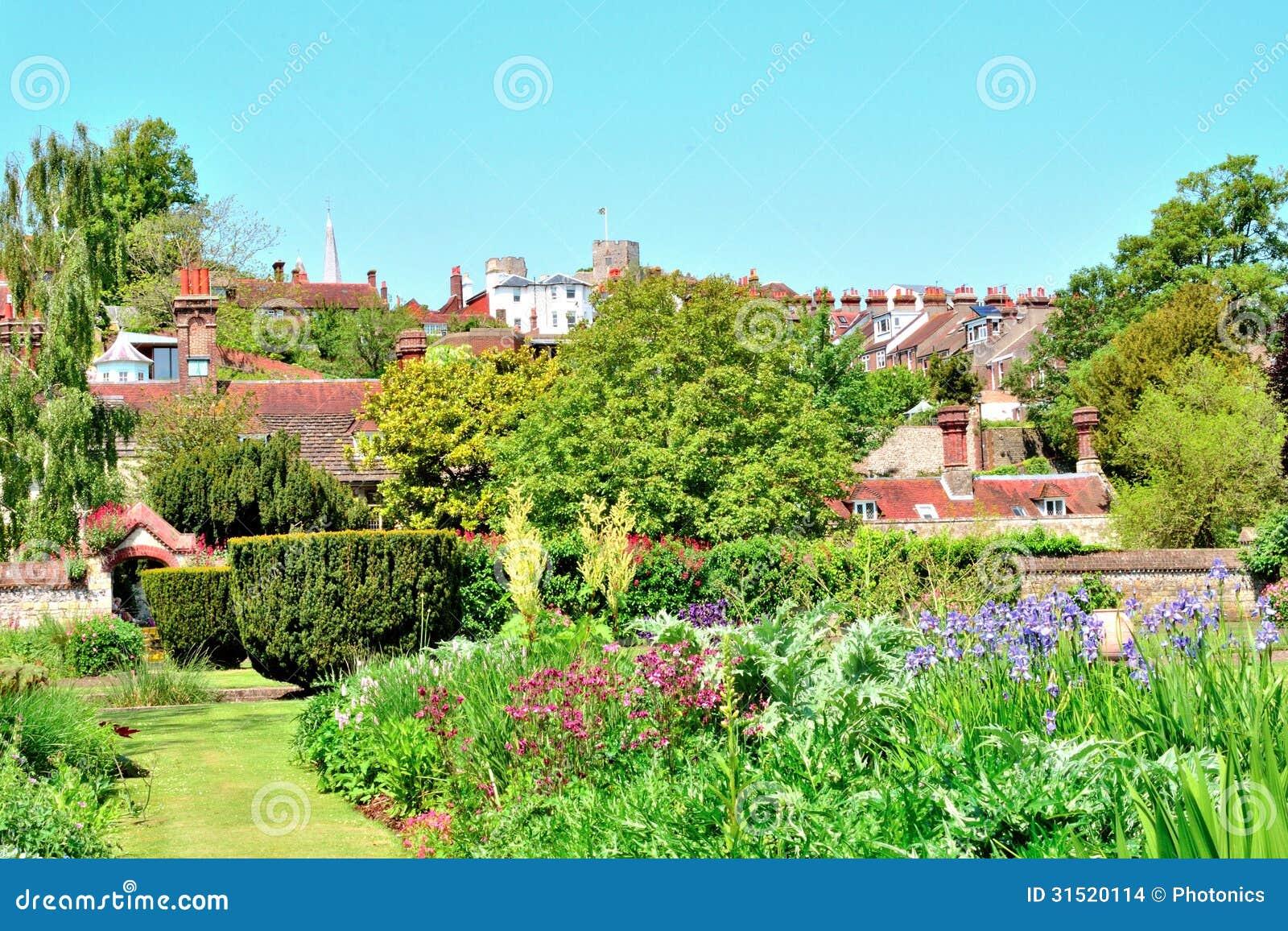 Κήποι στην πόλη Lewes