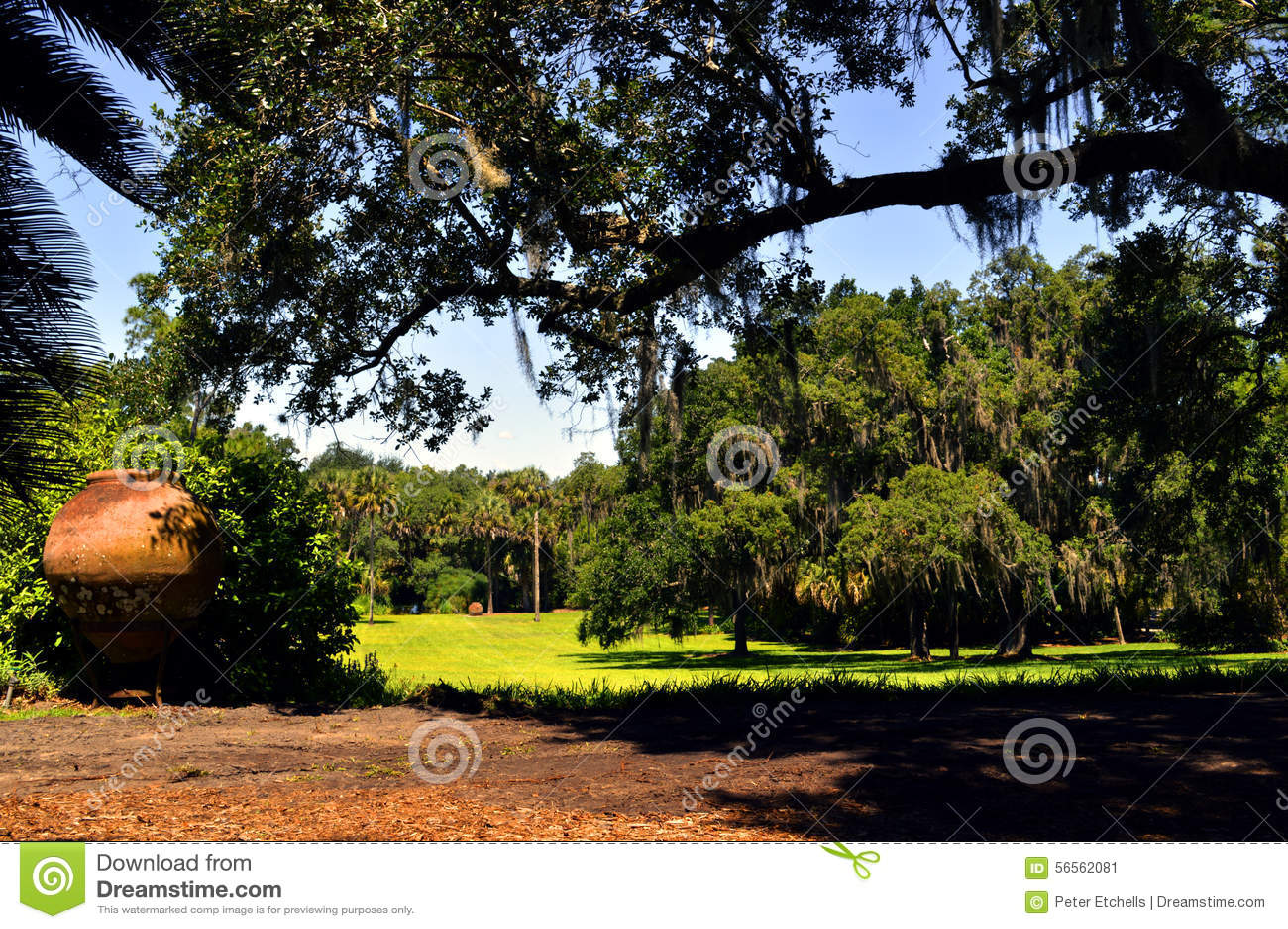 Download Κήποι Bok στη Φλώριδα στοκ εικόνα. εικόνα από ισπανικά - 56562081