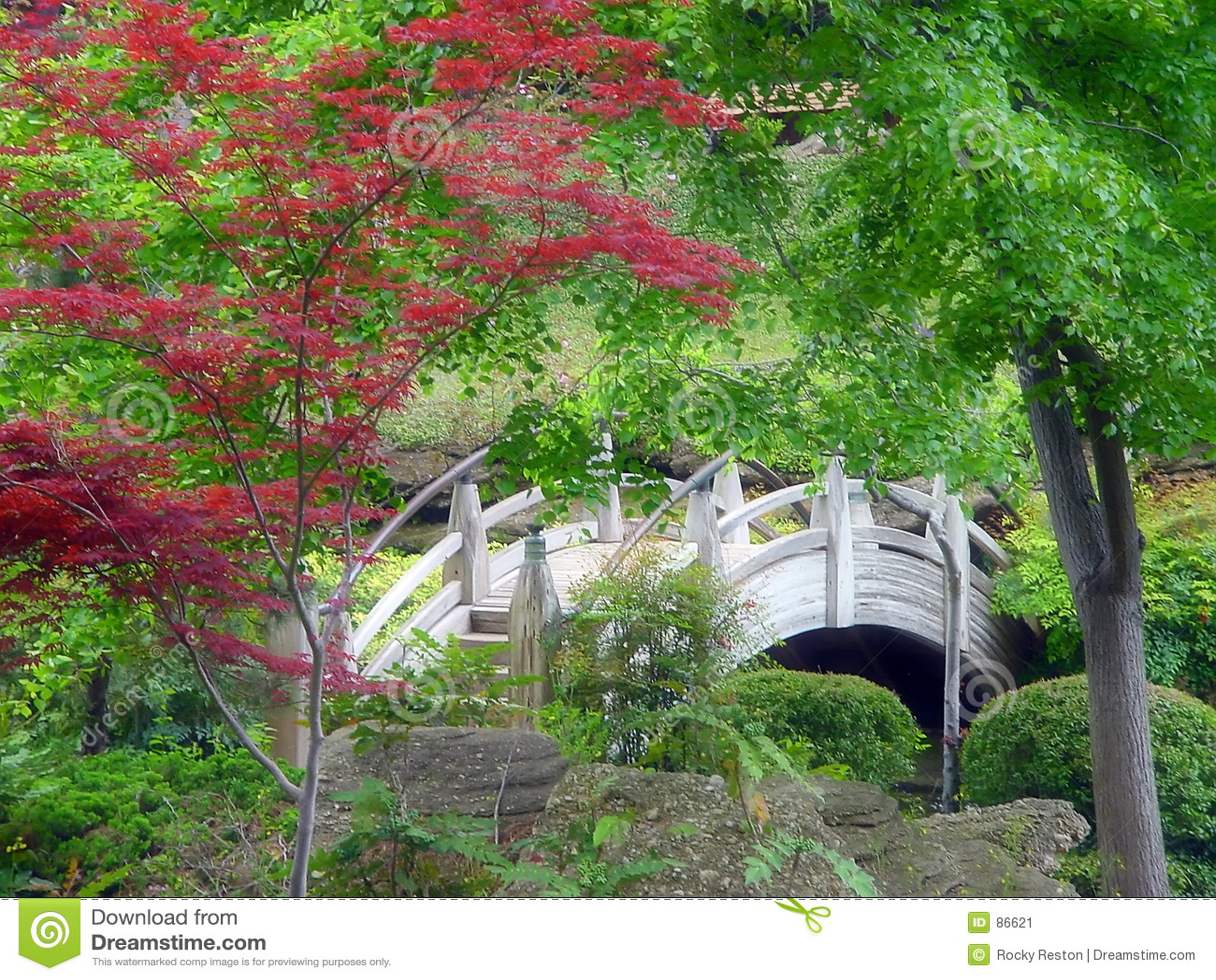 κήπος ιαπωνικά γεφυρών