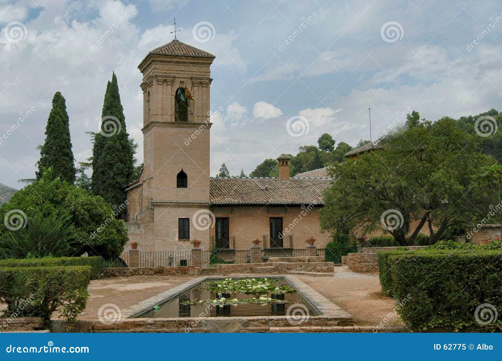 Download κήπος σιωπηλός στοκ εικόνα. εικόνα από παλαιός, αρχιτεκτονικής - 62775