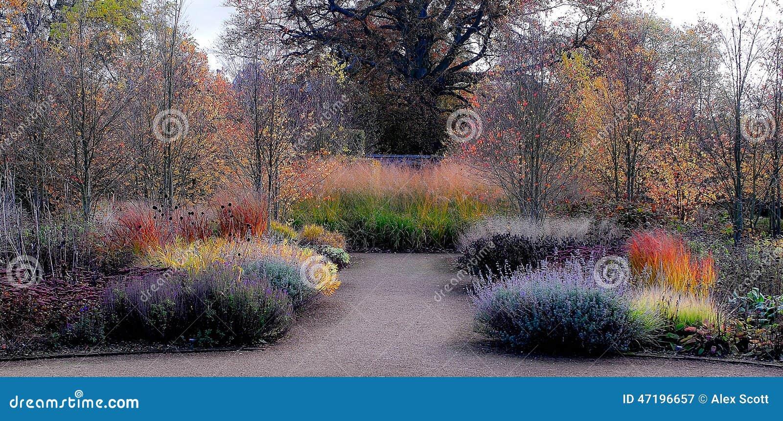 Κήπος στα χρώματα φθινοπώρου