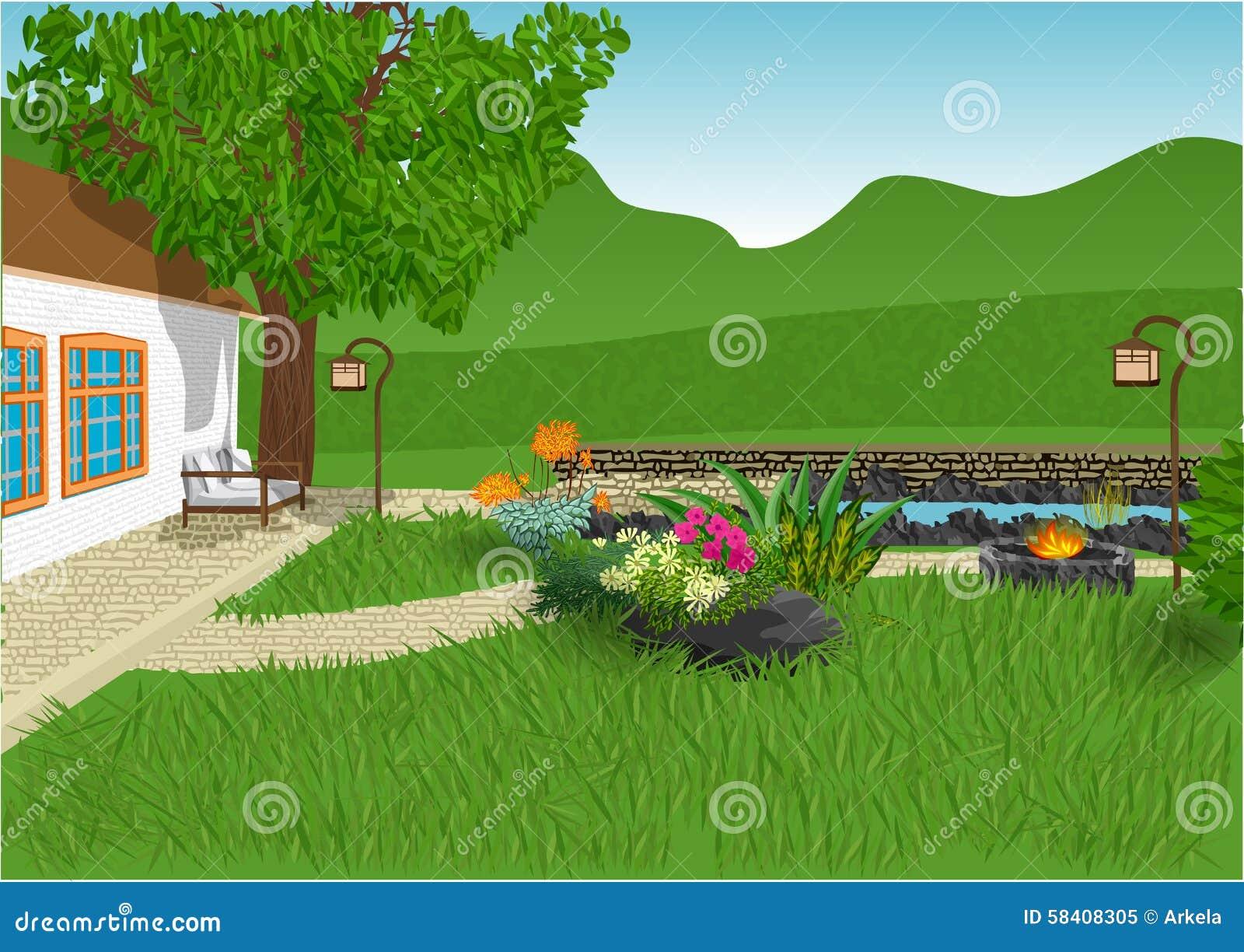 κήπος σύγχρονος