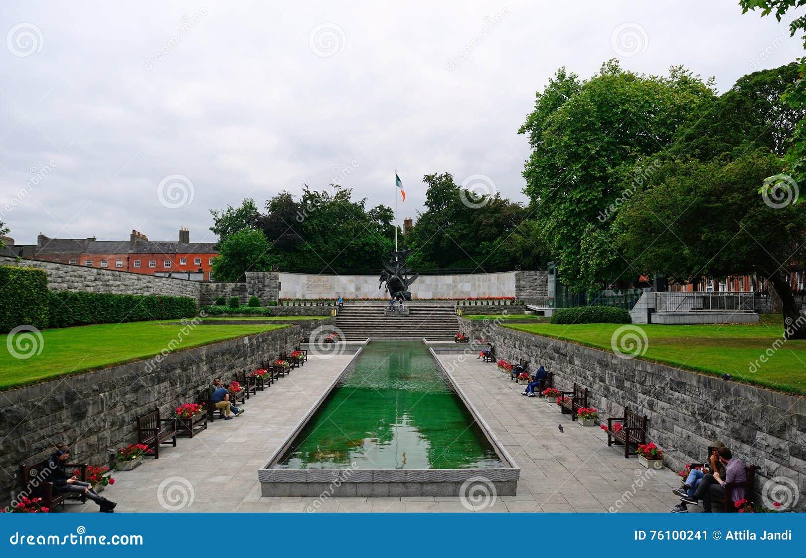 Κήπος της ενθύμησης, Δουβλίνο, Ιρλανδία