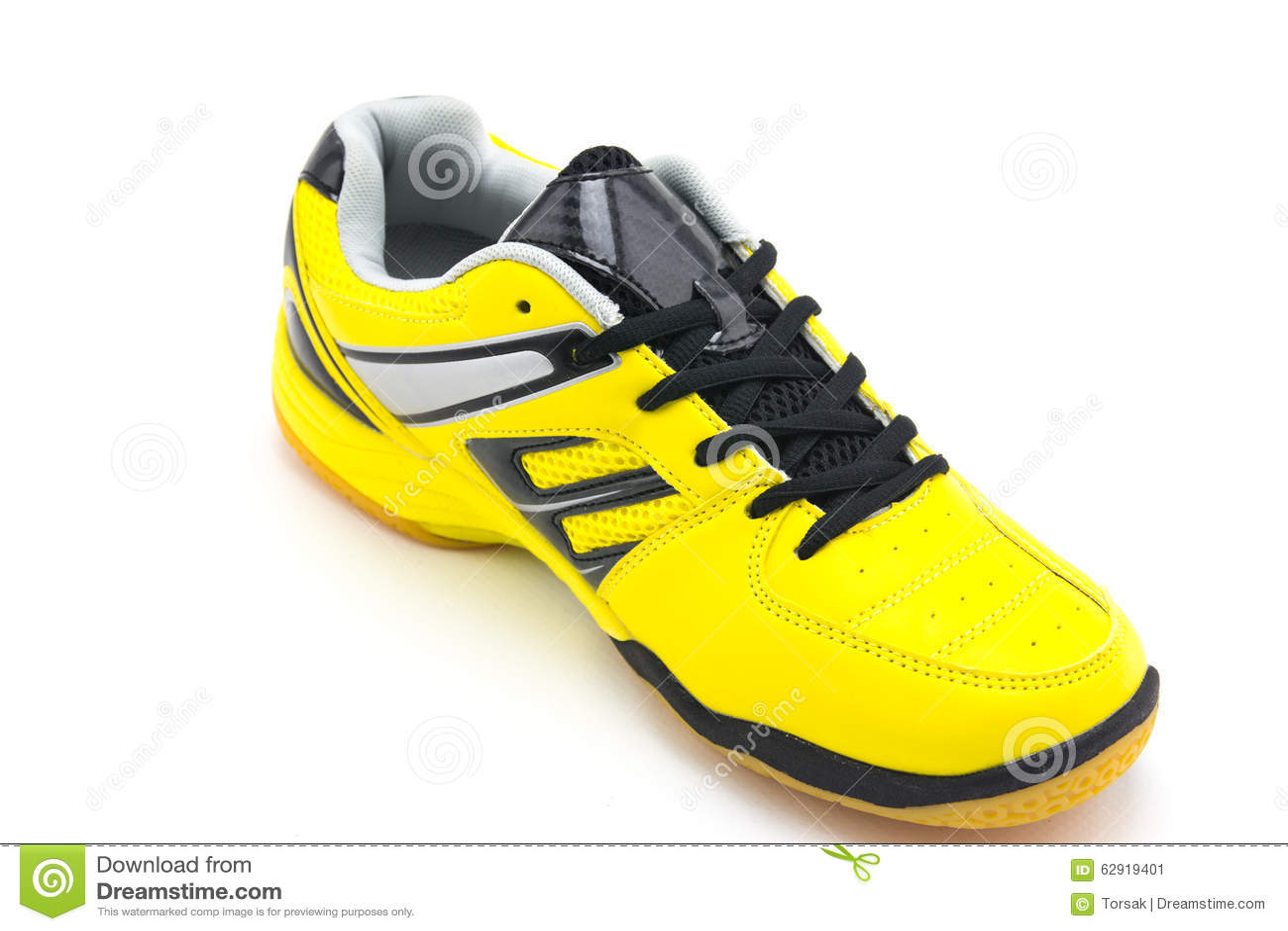 d4b868eb788 Κίτρινα αθλητικά παπούτσια στοκ εικόνα. εικόνα από μόδα - 62919401