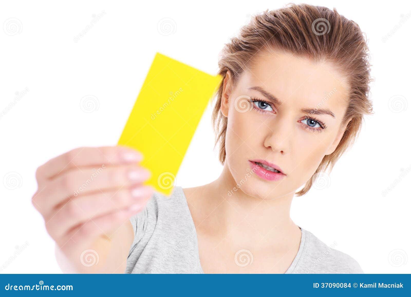 Κίτρινη κάρτα