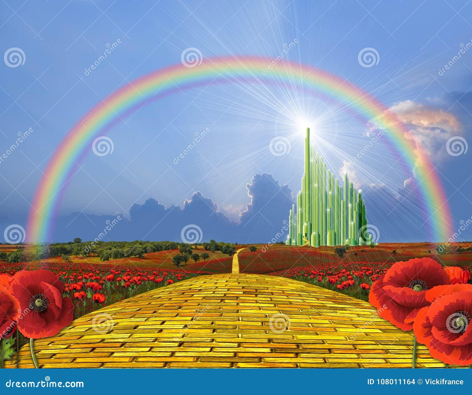 Κίτρινος δρόμος τούβλου Oz