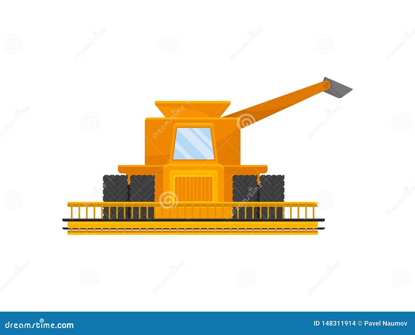 Κίτρινος συνδυάστε για τη συγκομιδή του σιταριού E