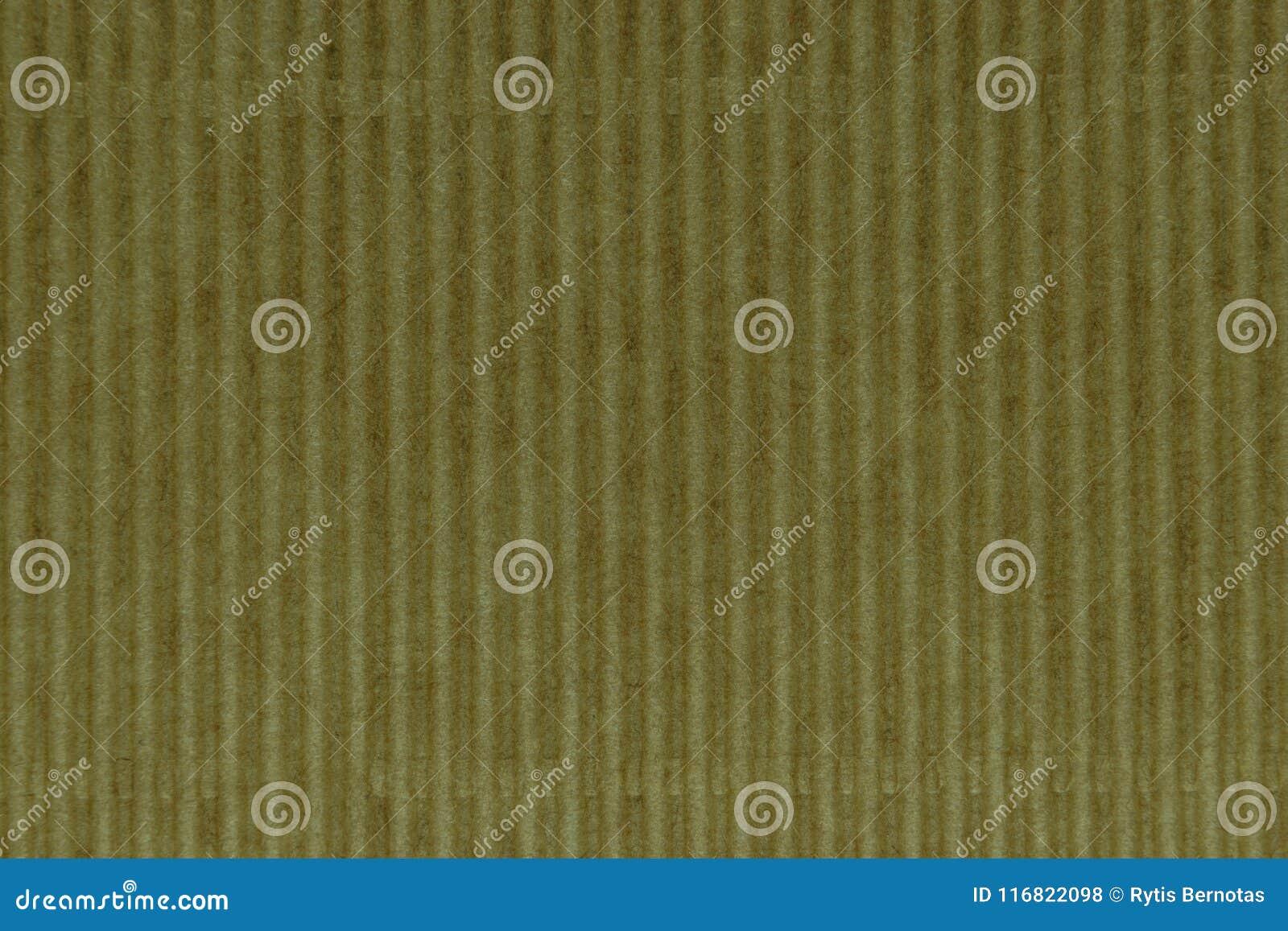 Κίτρινο σχέδιο της επιφάνειας υποβάθρου ζαρωμένου χαρτονιού