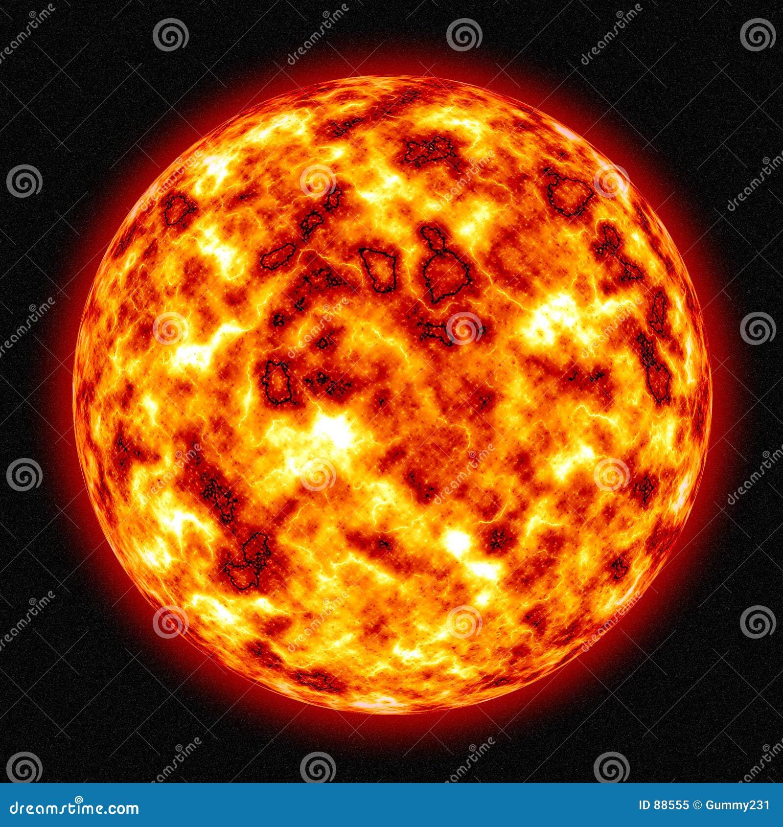 καίγοντας ήλιος