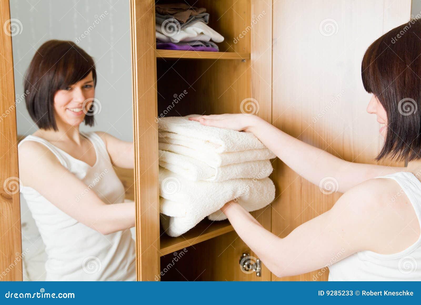 καθαρές πετσέτες