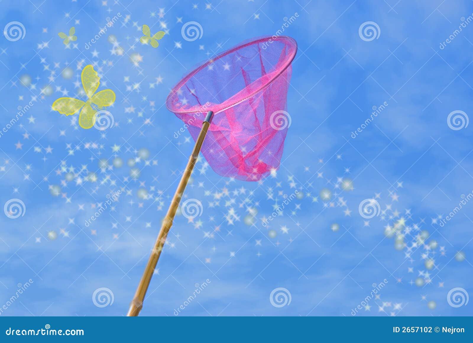 καθαρό ροζ πεταλούδων