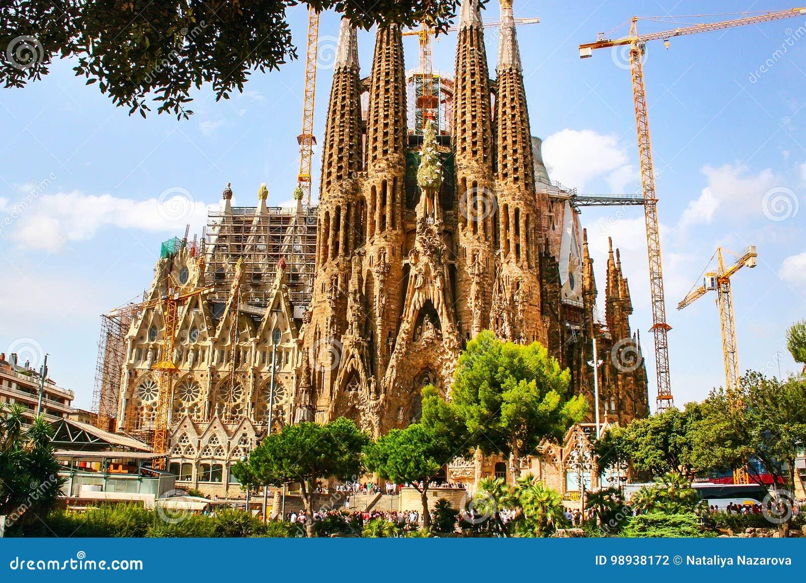 7086b8e4675c Καθεδρικός ναός Λα Sagrada Familia στη Βαρκελώνη