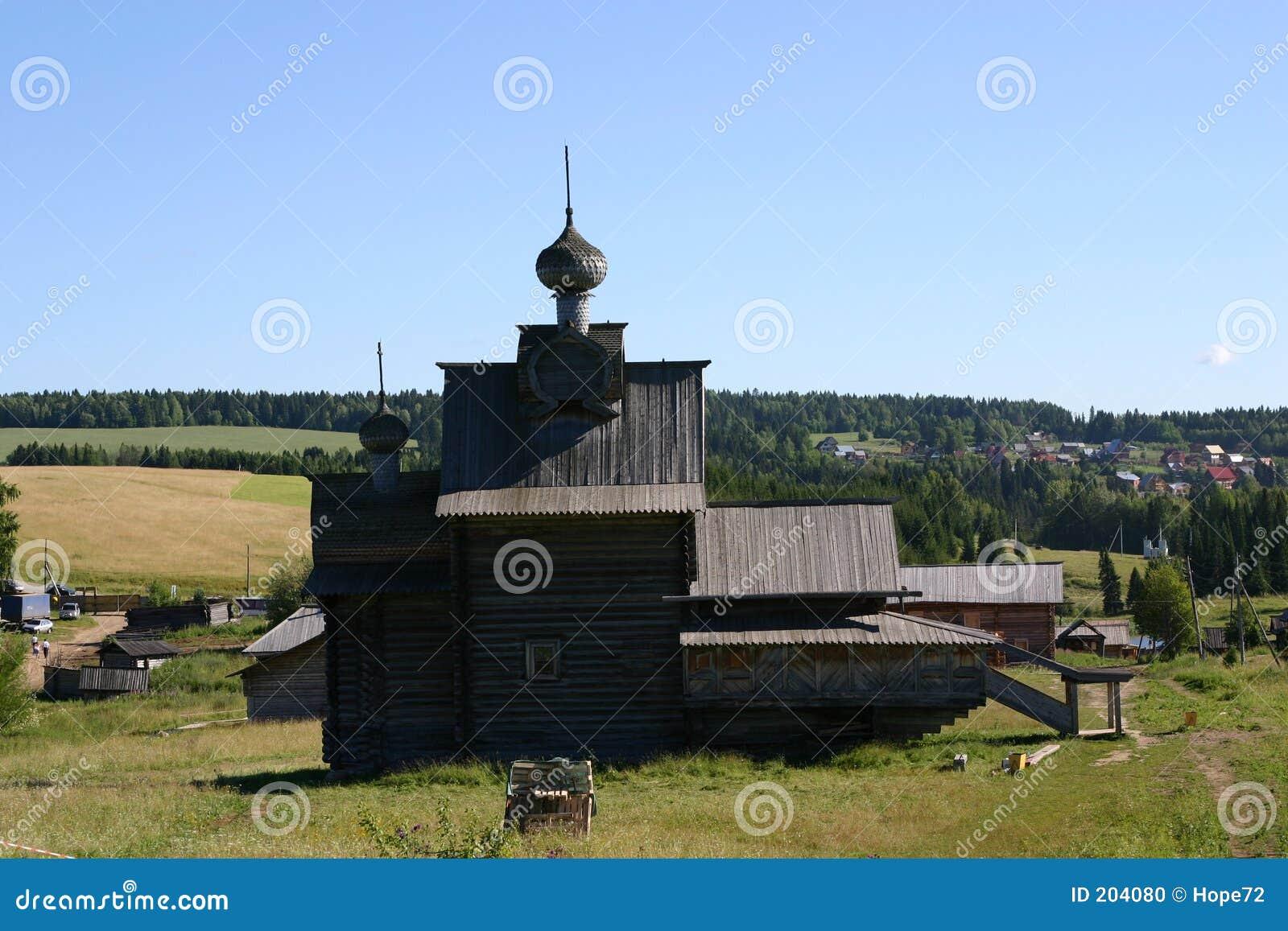 καθεδρικός ναός ξύλινος