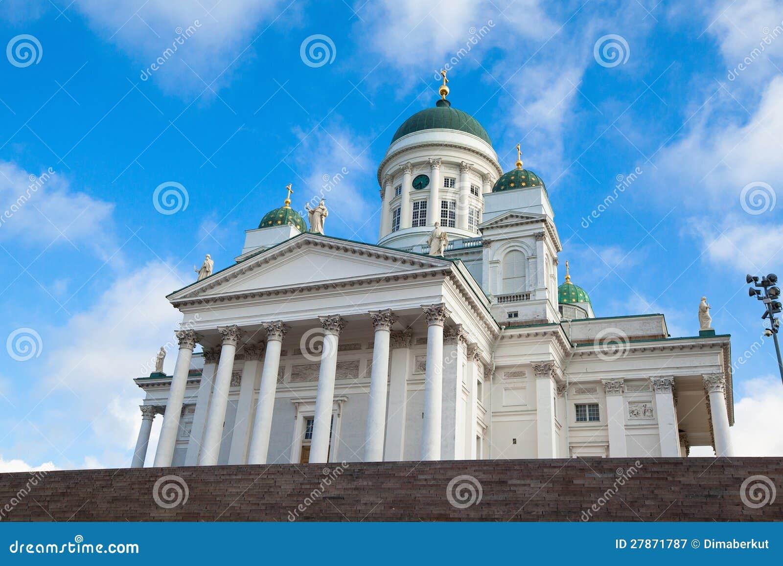 Καθεδρικός ναός στο τετράγωνο Συγκλήτου στο Ελσίνκι