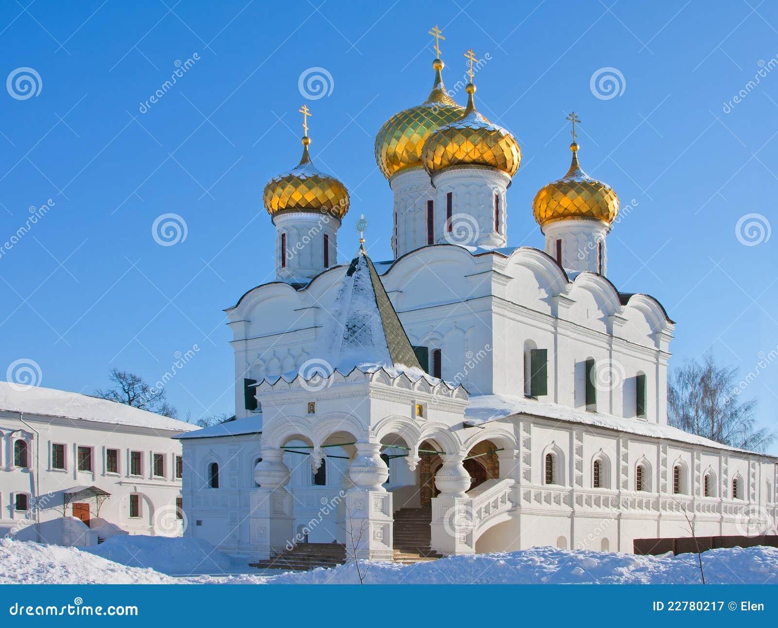 Καθεδρικός ναός χριστιανισμού στη Ρωσία, Kostroma, μοναστήρι Ipatievsky