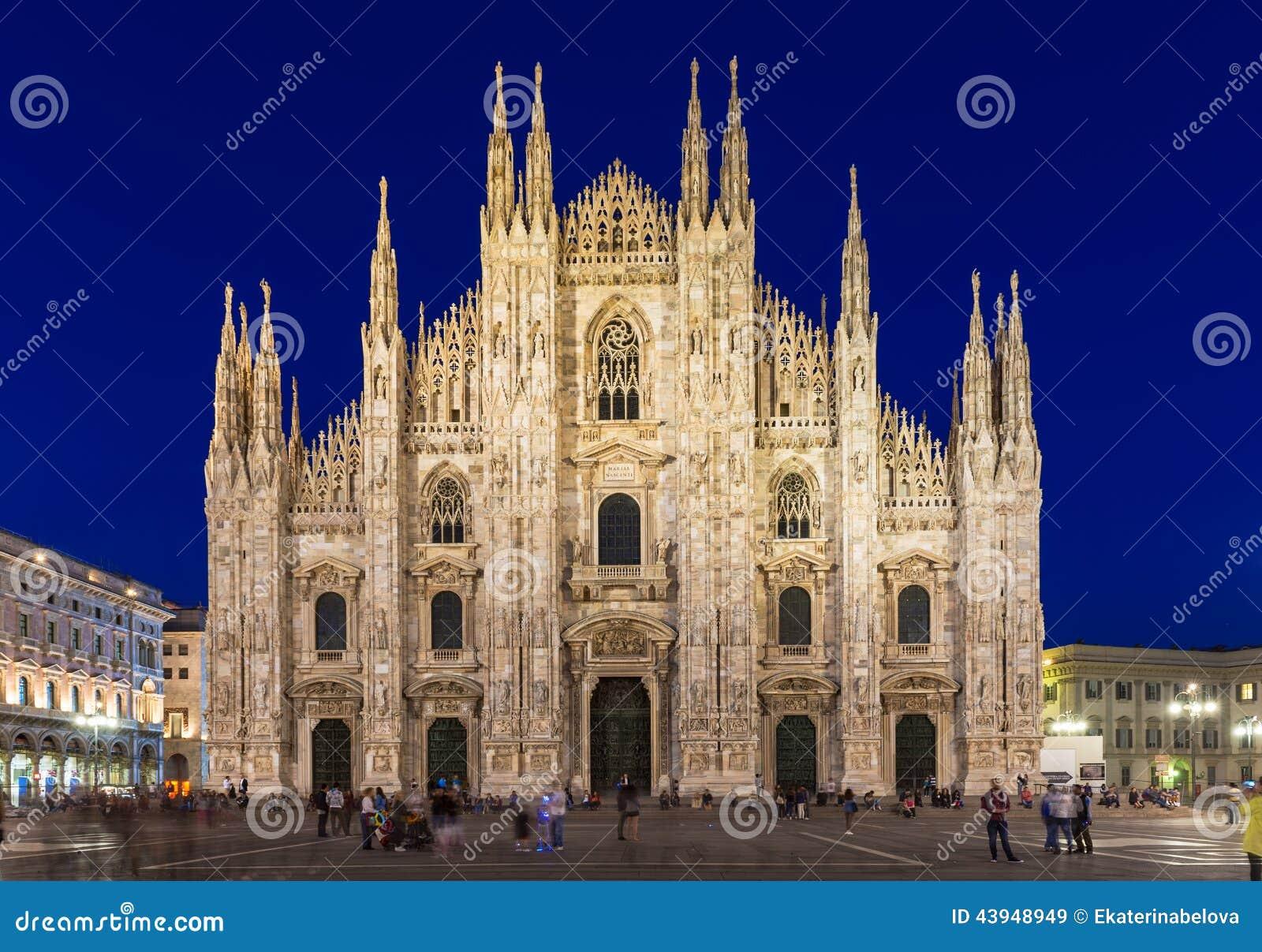 Καθεδρικός ναός του Μιλάνου (Di Μιλάνο Duomo) στο Μιλάνο, Ιταλία