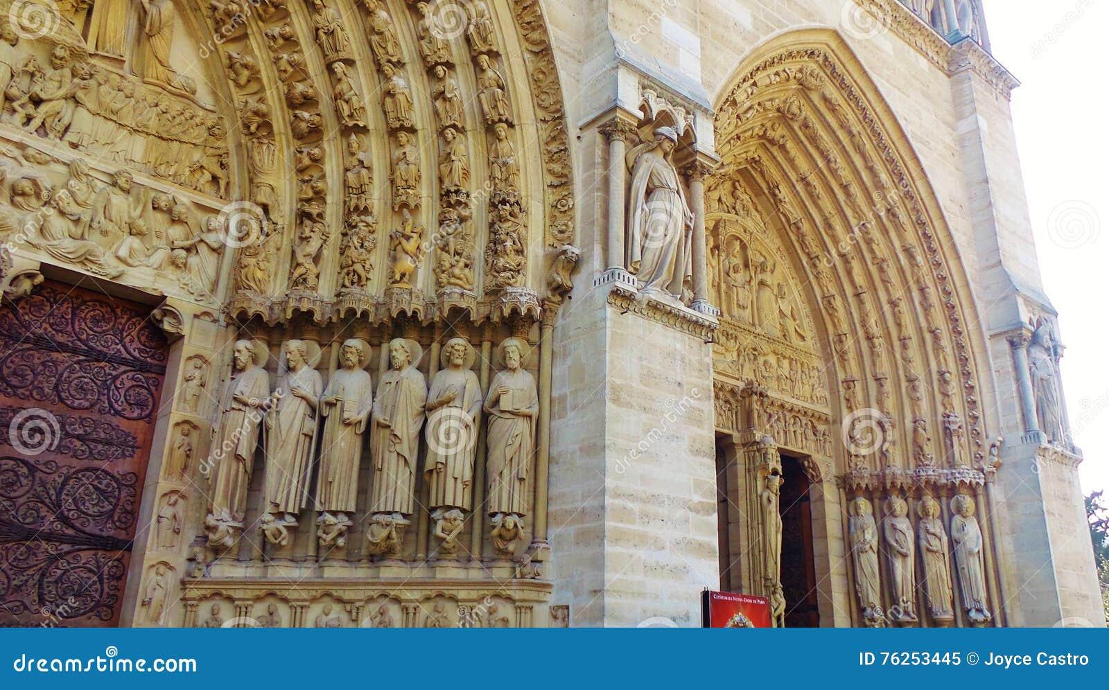 Καθεδρικός ναός Notre Dame στο Παρίσι