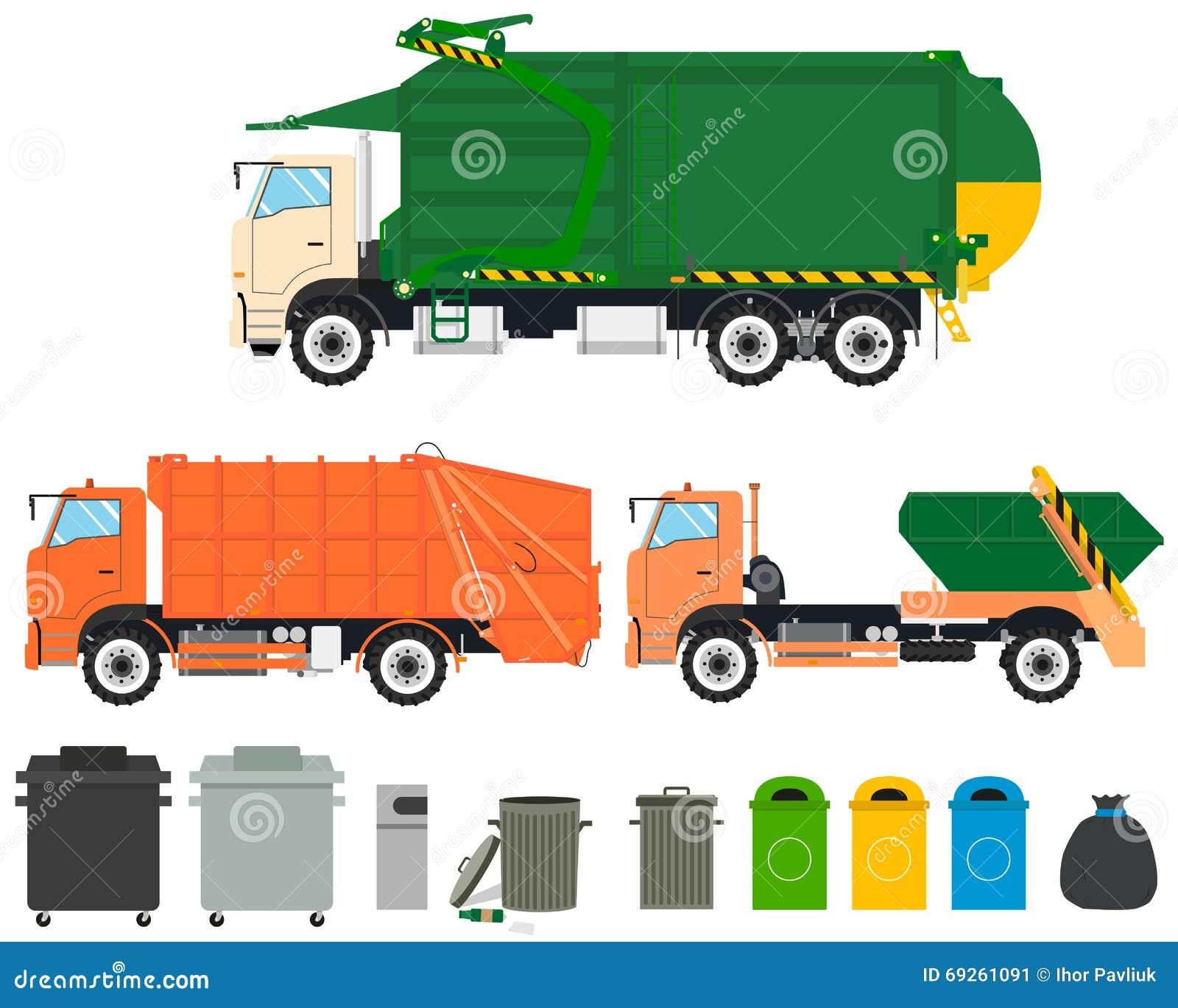 Καθορισμένα φορτηγά απορριμάτων