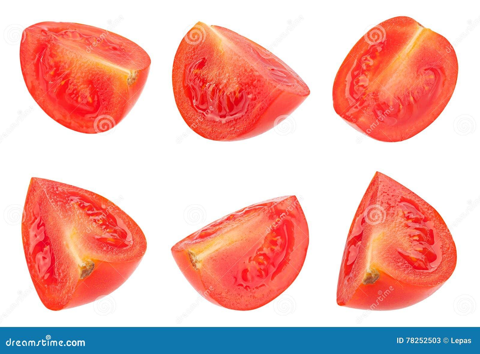 Καθορισμένη ντομάτα κερασιών στο λευκό