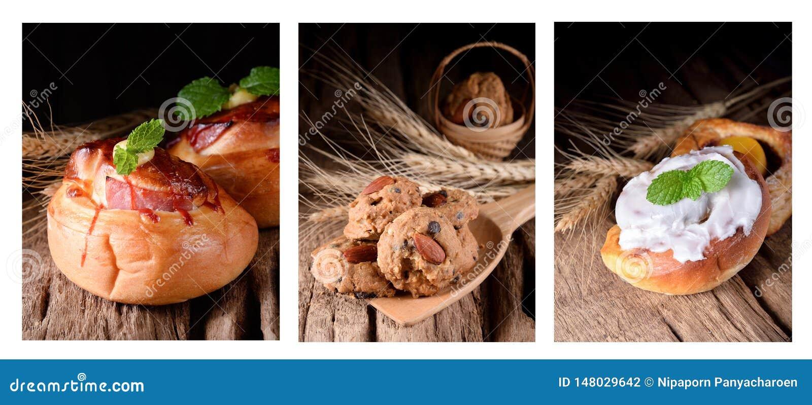 Καθορισμένοι διάφοροι τύποι ψωμιών