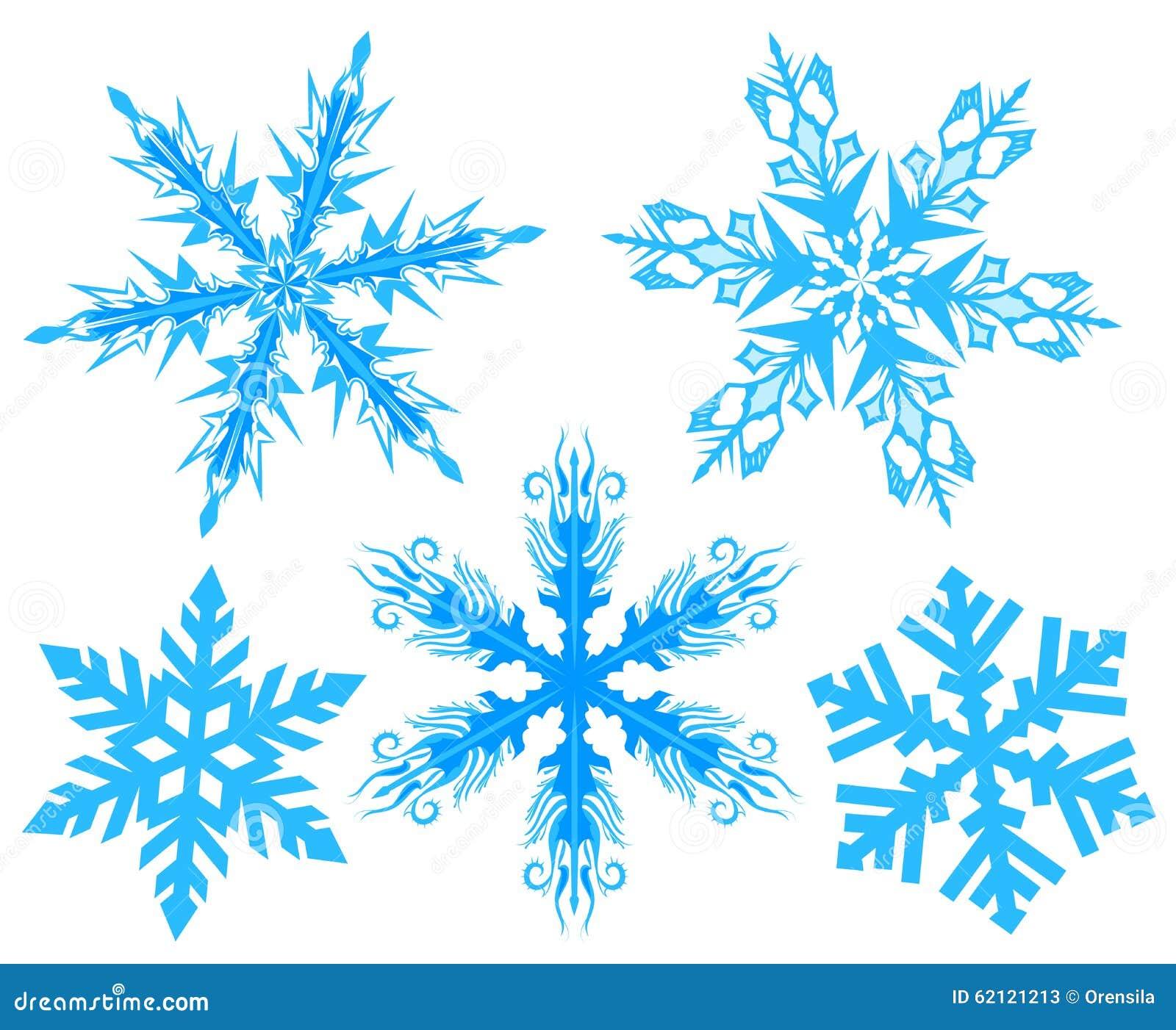 καθορισμένο snowflake Νιφάδα του χιονιού