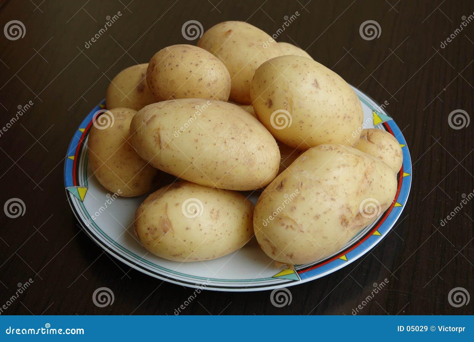 καινούριες πατάτες
