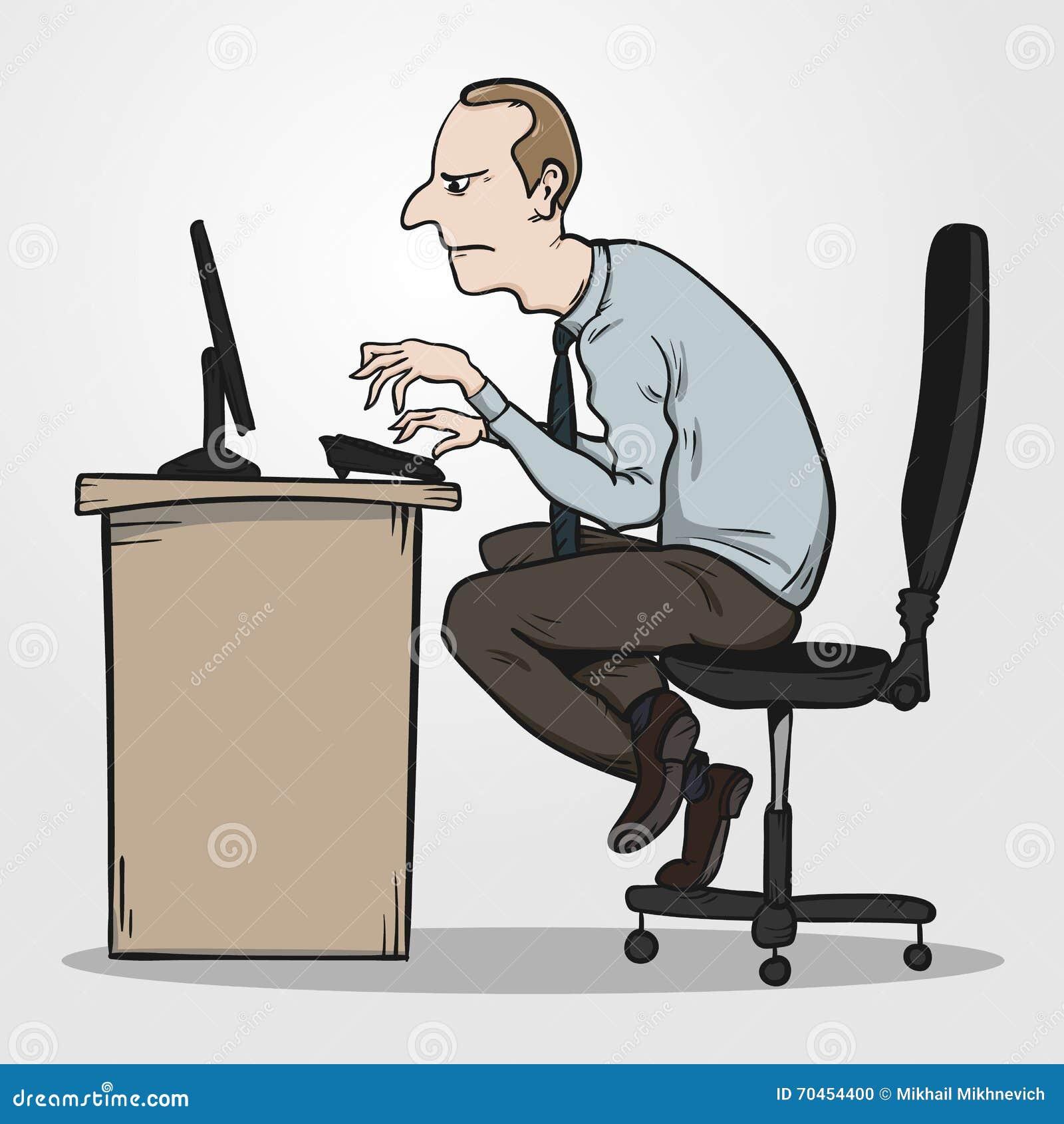 Κακή στάση συνεδρίασης ως λόγο για το σύνδρομο γραφείων